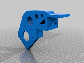 HypercubeEvolution Extruder Mount for 3030 Extrusion