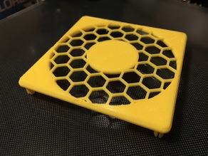 80mm Clipping Honeycomb Fan Grill