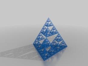 7-tier Sierpinski Tetrahedron