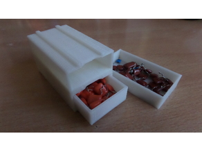 Box for storing electronic components
