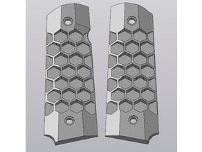 Grips HONEYCOMB for WE/KJW GBB pistol 1911