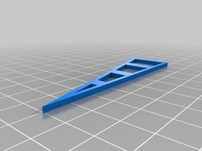 15° angle template