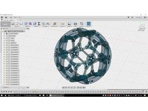 icosahedron globe