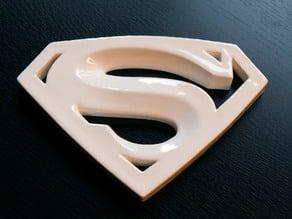 Superman Ceramic Logo