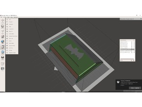 The BAT Cave - BAT house - modelled after internet plans
