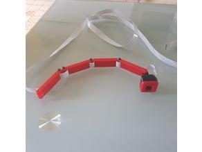bras cache nappe camera raspberry pi
