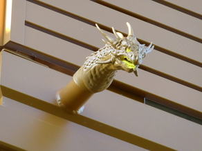 Gargoyle Dragon - Wassserspeier - for gutter, balcony or terrace