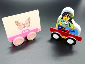 Business Card Holder - Multi Color Truck (incl. tutorial)