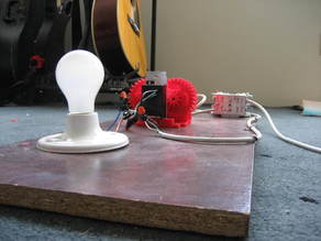 Artificial Sunrise Lamp