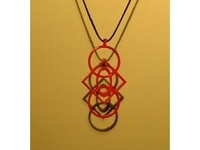 Geometry Multi Shape Pendant