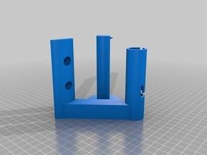 Locking Toilet Paper Holder (Makerbot Mini)