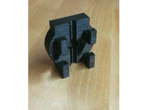 Ultimaker Original mount for low friction spool holder