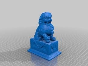 Fu Dog Sculpture
