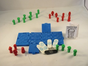 TARDIS Run board game - Print in parts board