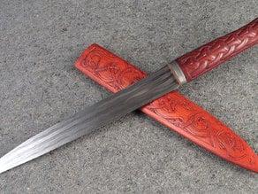 Ranger's Apprentice Saxe Knife