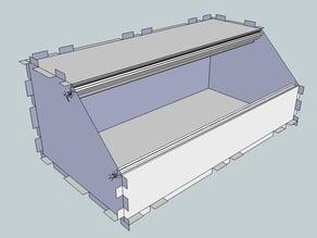 Eurorack Lasercut Case 84HP 3U 10mm Acrylic