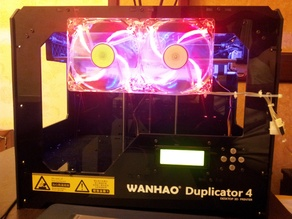 Cooling fan for Wanhao Duplicator 4
