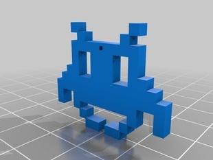 My Customized pixel art pendant\thing