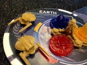 Terran Faction Models for Star Trek Ascendancy