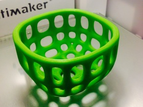 Small round wire basket (Smoothed)