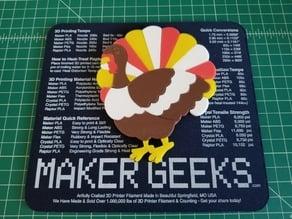 Turkey Puzzle (23 Pieces)