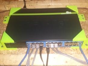 Vertical Flange for TRENDnet 24-Port Switch