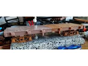 Fn3 short (23ft) flatcar