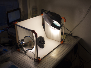 Compact Hinged Light-Box