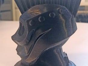 Steampunk robot head