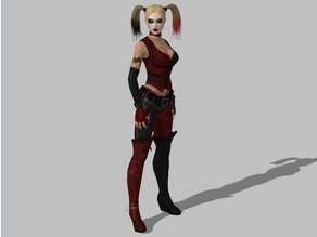 Harley Quinn - Batman Arkham City