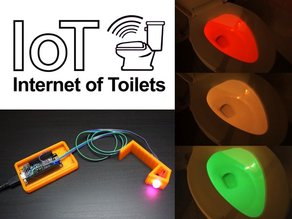 Smart Toilet Light IoT