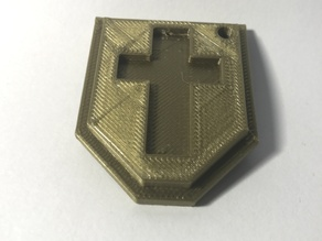 NES Legend of Zelda Shield Keychain