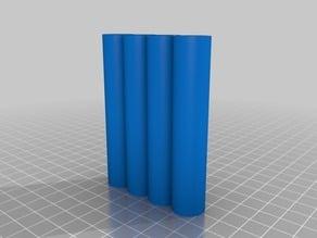 SmokTech eGo Mega Dual Coil E-Cigarette Cartomizer and EGO 510 Batteries Shirt Pocket Case