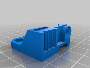 Filament feed drive guide for Wanhao Duplicator 4S(with 2mm hole)