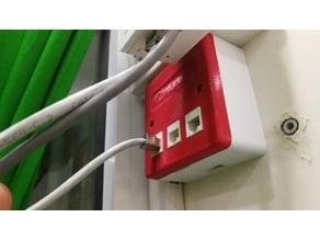 3 Ports Ethernet Socket Housing