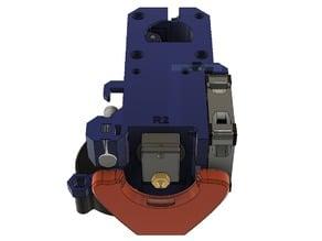 Prusa i3 MK3 Alternative part cooling duct V2