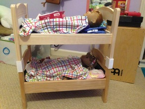Doll bed converter