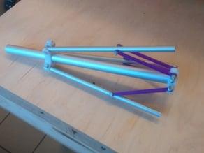 Folding tripod