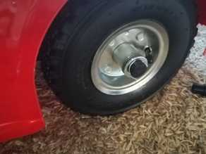 Tire upgrade for kid car