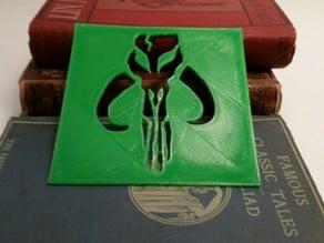 Boba Fett Mandalorian Mythosaur Logo
