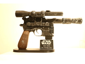 Stand + name tag + skrews for Han Solo Blaster