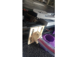 Lower cabling holder