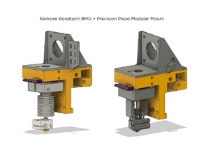 Railcore II BMG + Precision Piezo Orion - Printed Y-Carriage