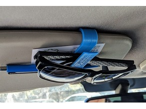 Universal Car Glasses and Pen Clip for Sun Visor
