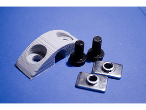 Cable holder for aluminum extrusion frame
