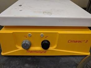 Thermolyne Cimarec Stirrer Hotplate Replacement Knob
