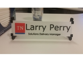 Pergo State of TN Desk Plate