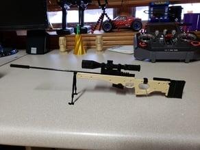 Accuracy International AWM Sniper Rifle