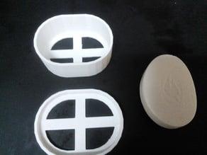Soap dish travel case