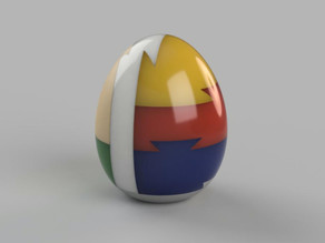 Egg 3D puzzle
